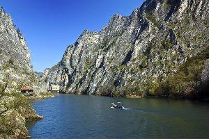 Le Canyon Matka , Macédoine