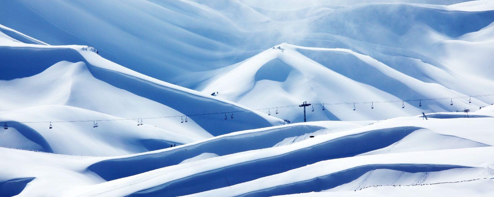 La station de ski des Cèdres de Becharré , Liban