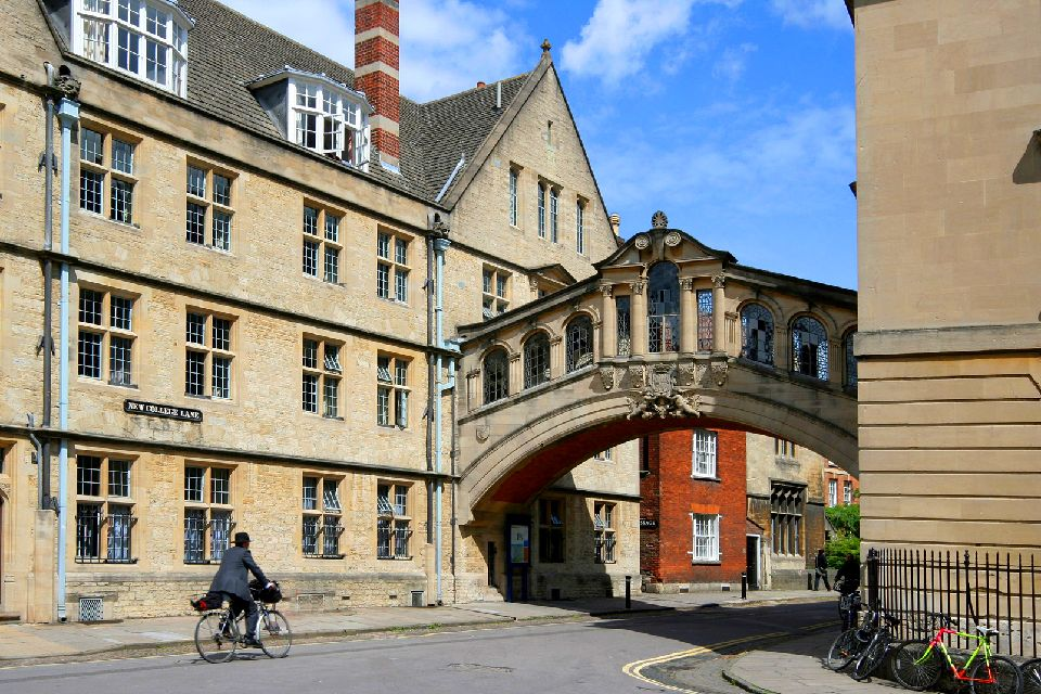 Oxford University , Le pont des Soupirs de Hertford College , Royaume-Uni