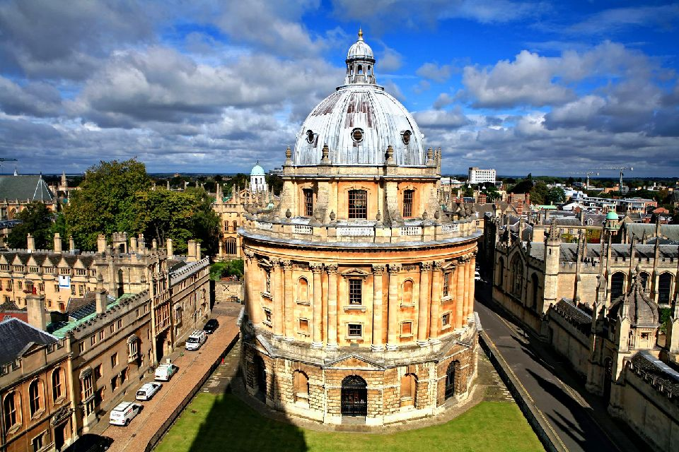 Oxford University , La Radcliffe Camera , Royaume-Uni