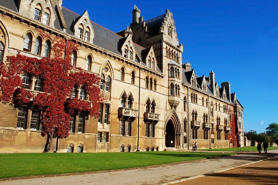 Oxford University , Le Christ Church College , Royaume-Uni