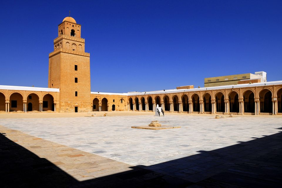 La mosquée de Kairouan , Tunisie
