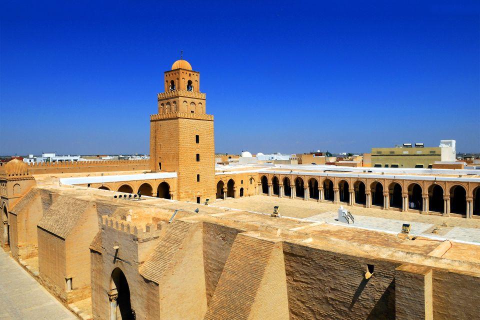 La mosquée de Kairouan , L'une des plus anciennes mosquées du monde , Tunisie
