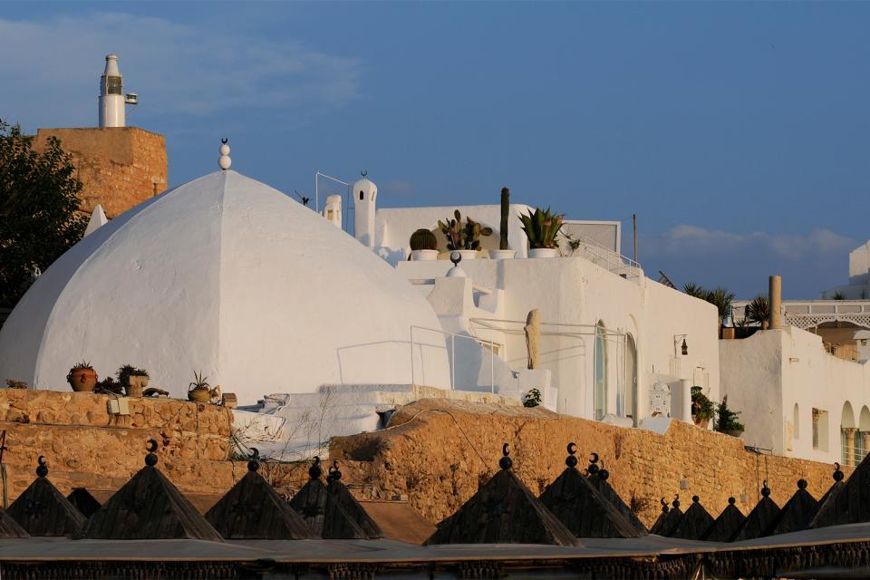 La kasbah d'Hammamet , Tunisie