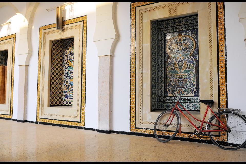 La médina de Nabeul , Tunisie