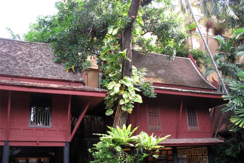 Jim Thompson House , L'architecture des bâtiments , Thaïlande