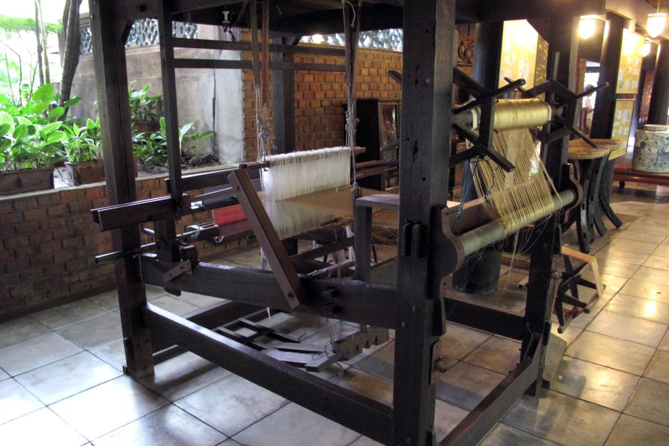 Jim Thompson House , La confection de la soie , Thaïlande