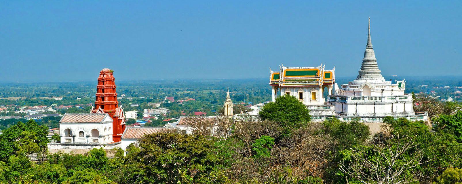 Phra Nakhon Khiri National Museum, Les monuments, Thaïlande