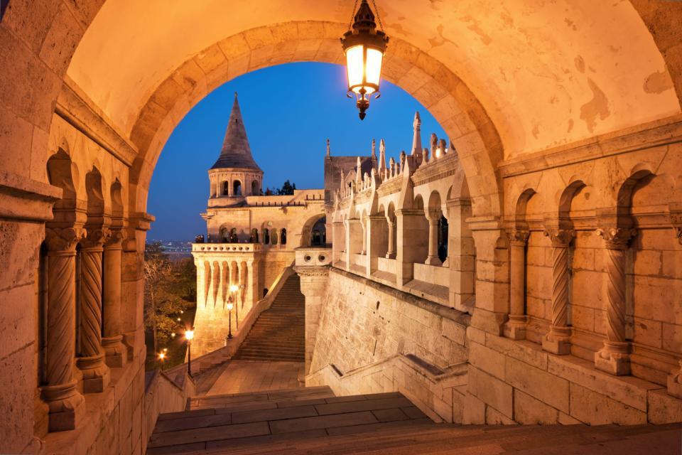 Le Bastion des pêcheurs à Budapest , Hongrie