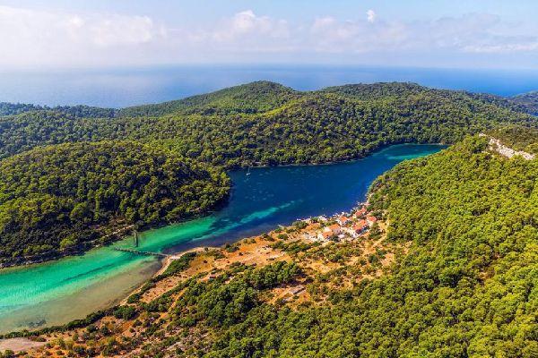 L'île de Mljet , Croatie