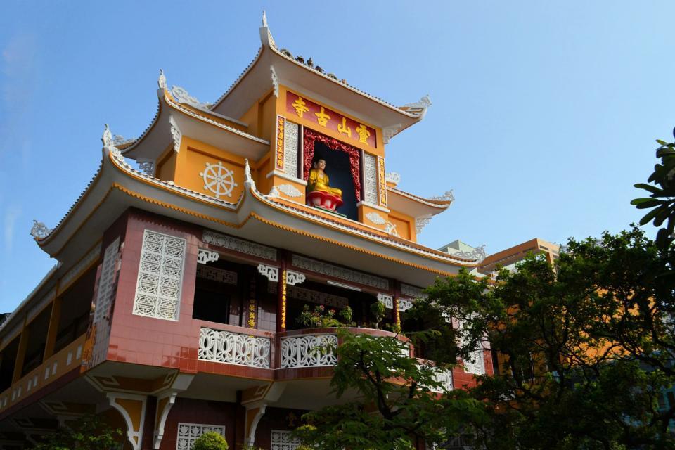 Le quartier chinois d'Hô-Chi-Minh-Ville , Vietnam