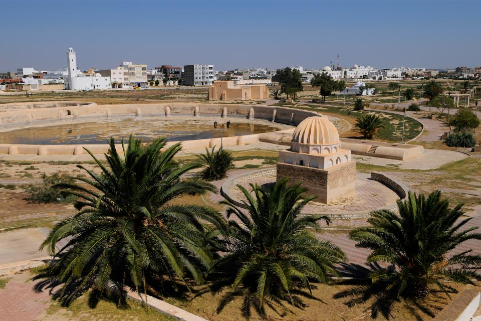 Les citernes de Kairouan , Tunisie