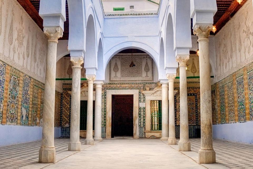 La mosquée du Barbier , Tunisie