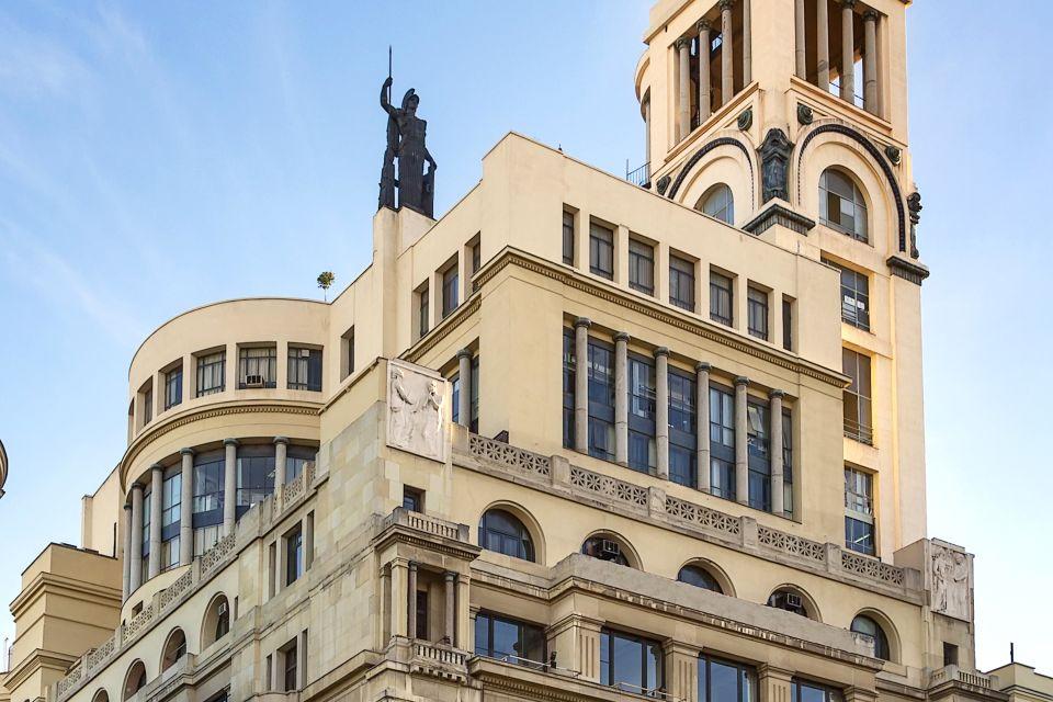 Les monuments, culture, beaux-arts, musée, madrid, communauté, espagne, europe, cercle, art déco, immeuble