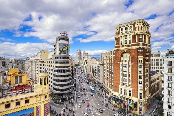 Gran Via , Espagne