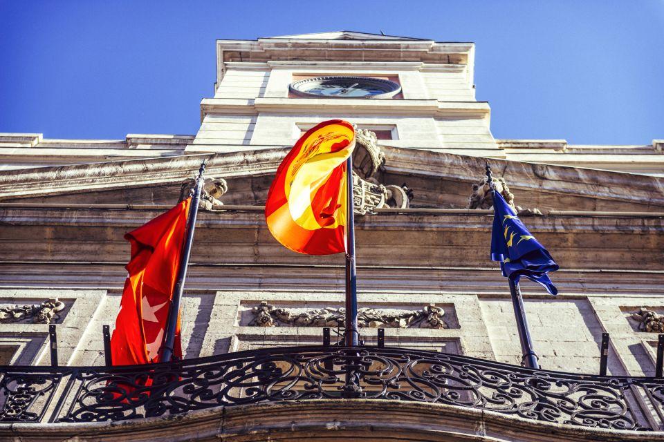 Les monuments, Puerta del sol, soleil, porte, espagne, madrid, communauté, europe, place