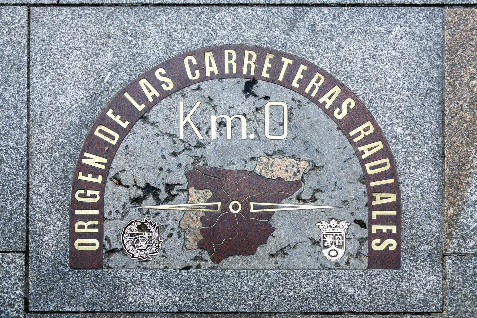 Les monuments, Puerta del sol, soleil, porte, espagne, madrid, communauté, europe, place, carte, kilomètre zéro
