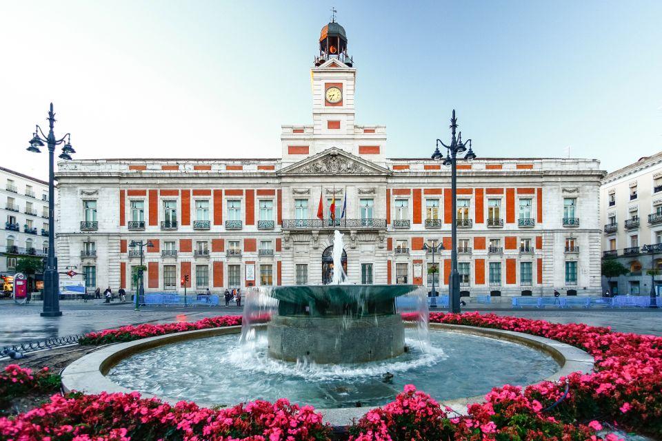 Les monuments, Puerta del sol, soleil, porte, espagne, madrid, communauté, europe, place, postes