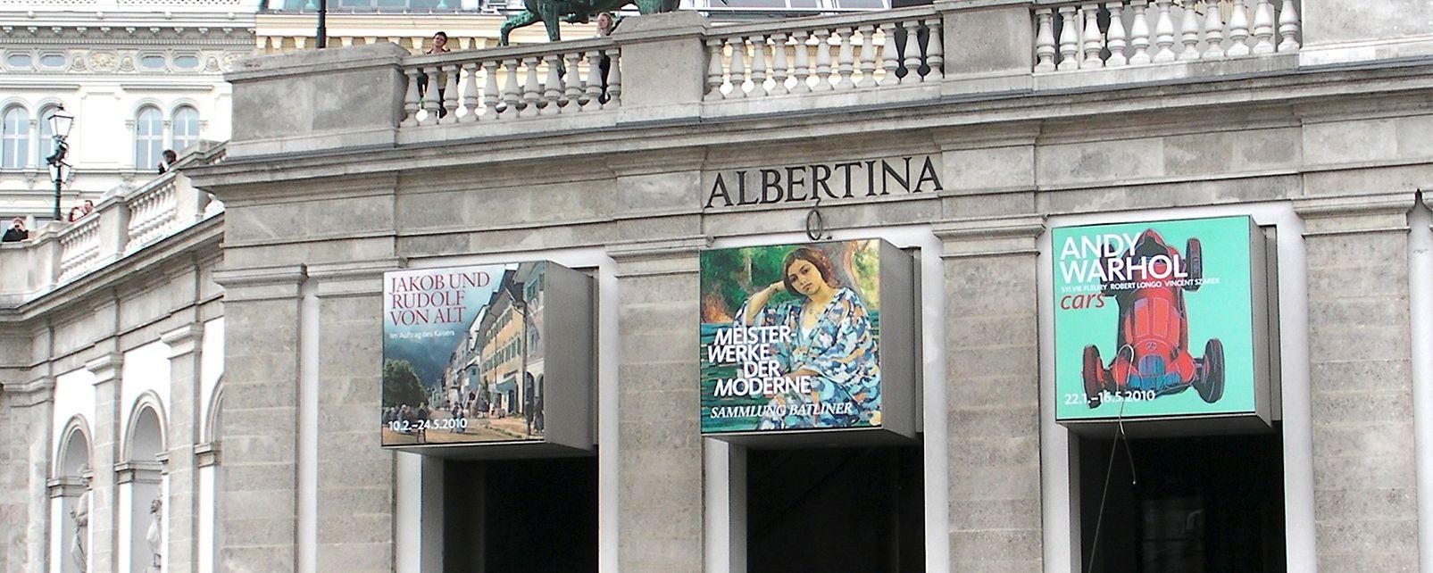 Les musées, Vienne, Autriche, musée, art, Albertina