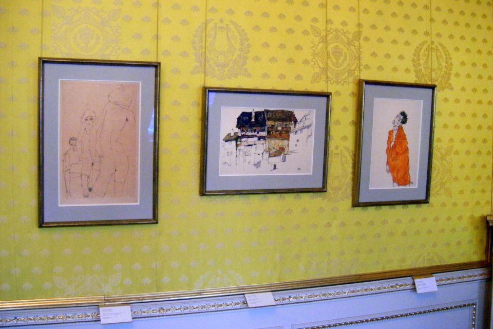 Les musées, Schiele, Vienne, Autriche, musée, art, albertina.