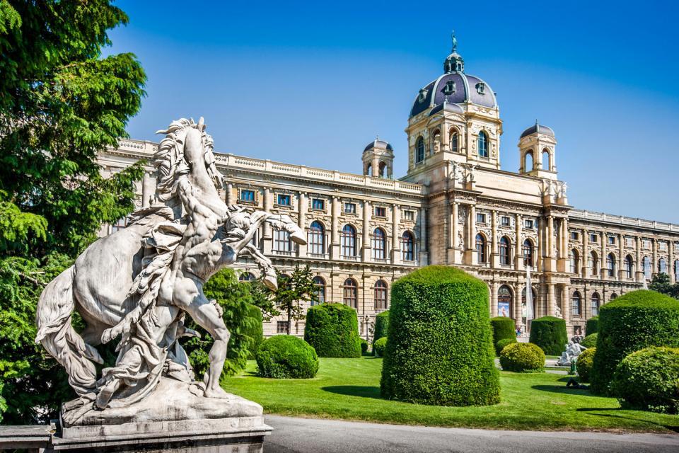 Le musée d'Histoire Naturelle , Autriche