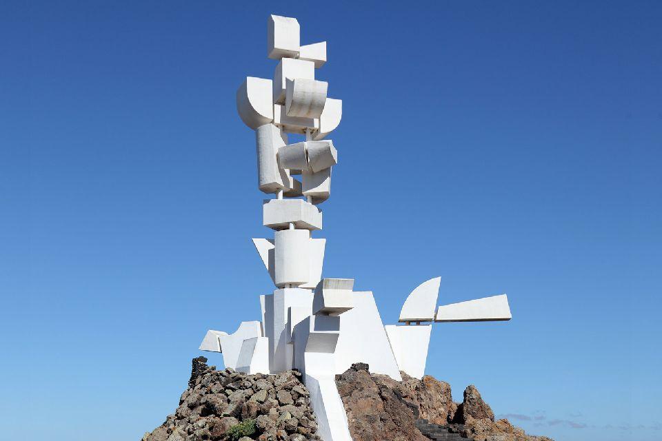 Lanzarote , Le Monumento del Campesino , Espagne