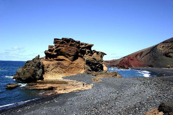 Lanzarote -El Golfo , Espagne
