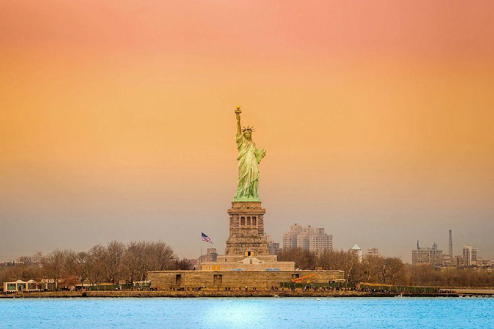 La statue de la Liberté , Une statue en cadeau , Etats-Unis