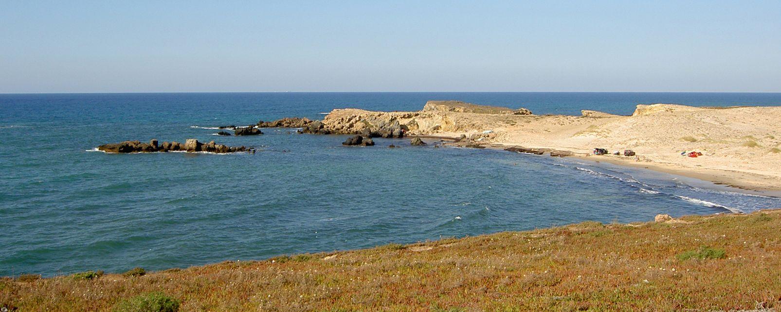Les côtes, Cap Angela, Tunisie, Afrique, Maghreb, côte, cap, mer, méditerranée