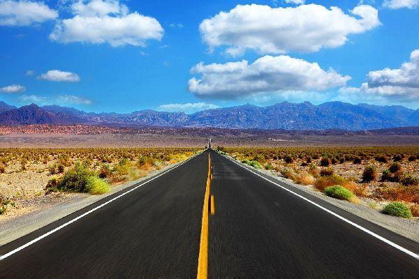 La Vallée de la mort , Une nature hostile , Etats-Unis