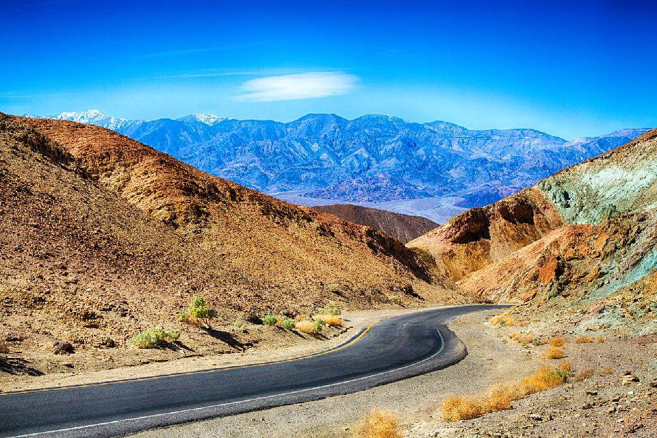 La Vallée de la mort , Un immense parc national , Etats-Unis