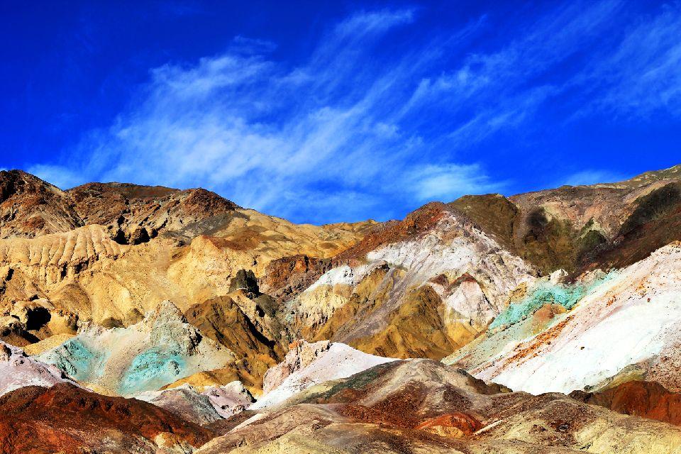 La Vallée de la mort , Artist's Palette , Etats-Unis