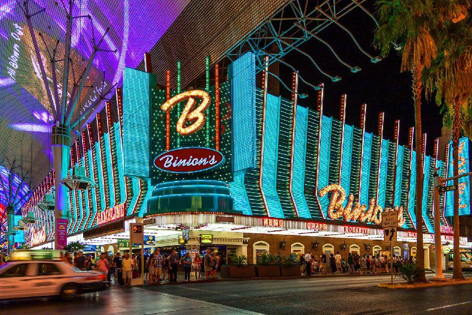 Freemont Street à Las Vegas , Etats-Unis