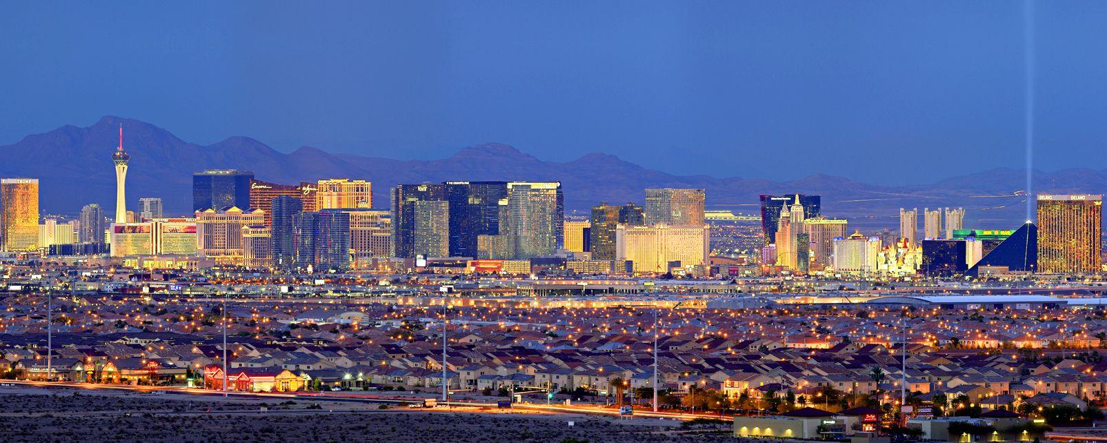 Le Strip de Las Vegas , Etats-Unis