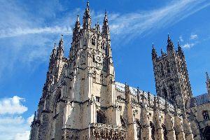 La cathédrale de Canterbury , Royaume-Uni