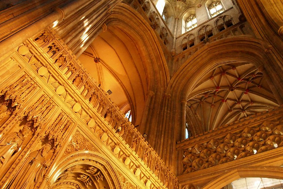 La cathédrale de Canterbury , Une architecture unique , Royaume-Uni