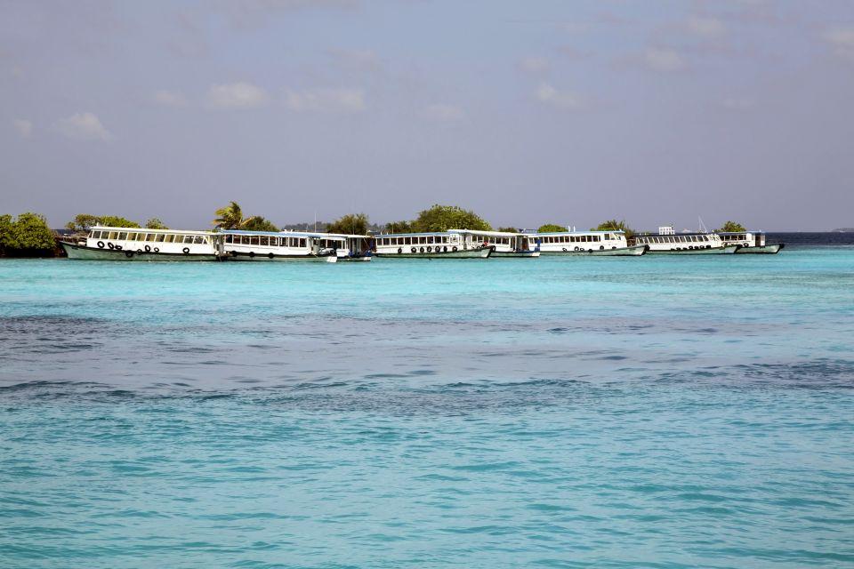 Les côtes, île, hulhule, Maldives, Malé Nord, atoll, asie, plage, océan indien