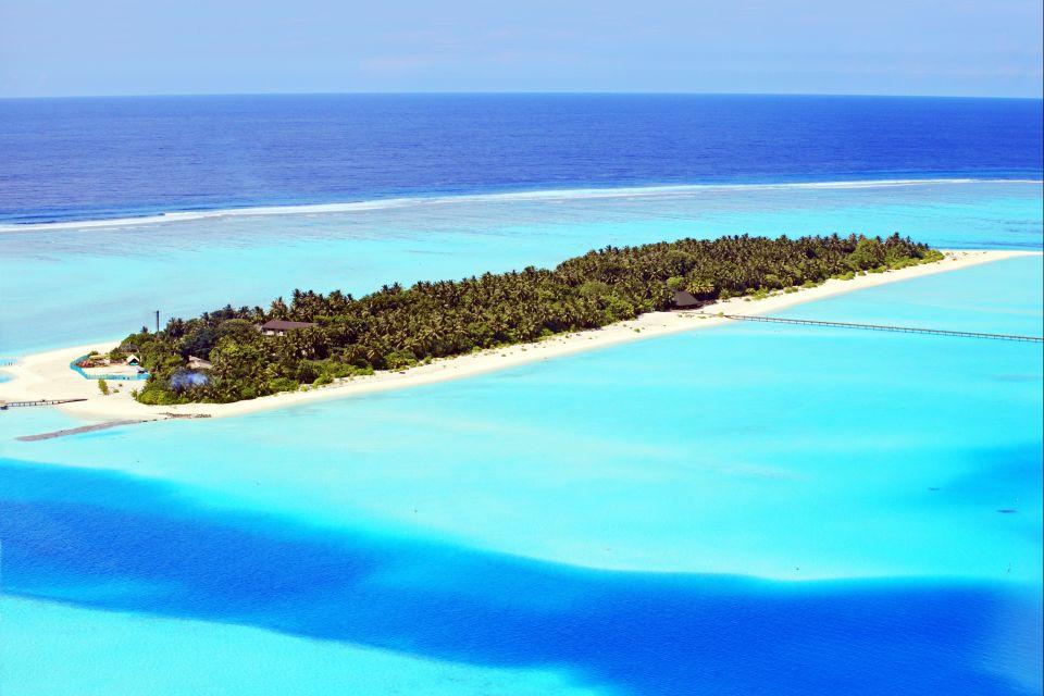 Les côtes, île, Ihuru, Maldives, Malé Nord, atoll, asie, plage, océan indien