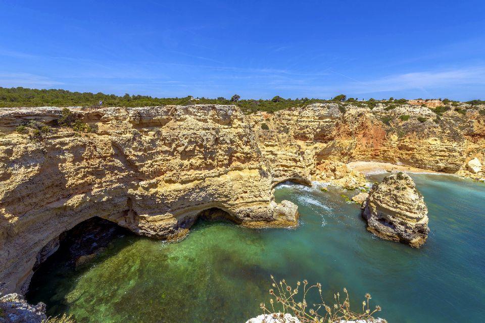 Le parc naturel de l'Algarve , Portugal