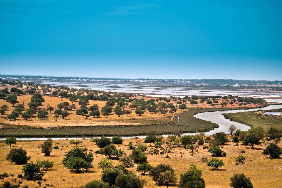 Les paysages, sapal, reserve de sapal, algarve, portugal