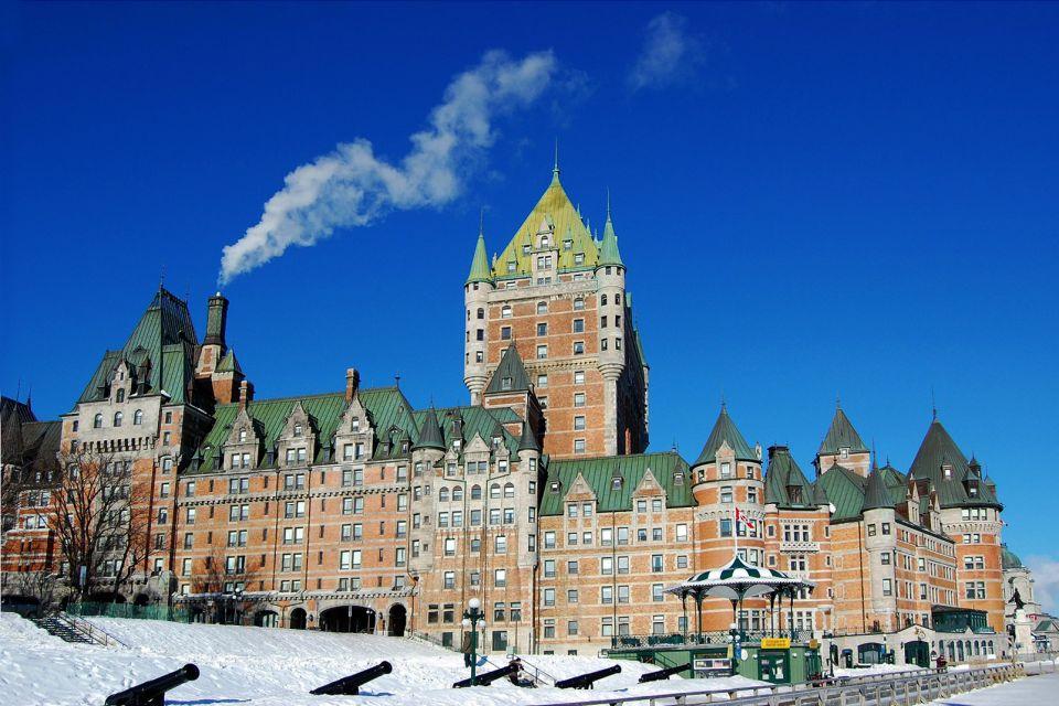 fairmont, Frontenac, hotel, hôtel, Canada, Québec, amérique