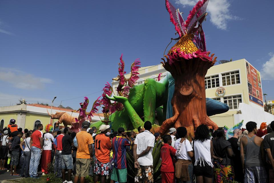 Le carnaval de Mindelo , Cap-Vert