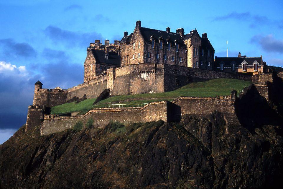 Le château d'Edimbourg , Un lieu emblématique d'Edimbourg , Royaume-Uni