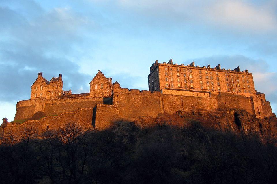 Le château d'Edimbourg , Forteresse imprenable , Royaume-Uni