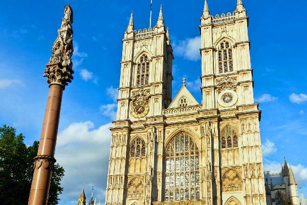 Le Palais de Westminster , L'abbaye de Westminster , Royaume-Uni