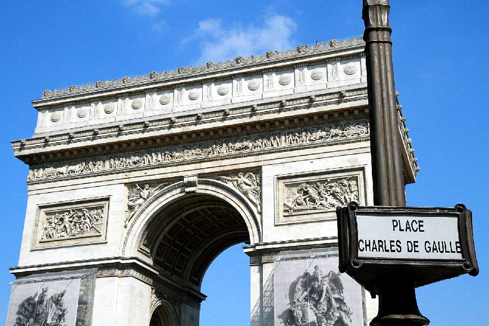 L'Arc de Triomphe , France