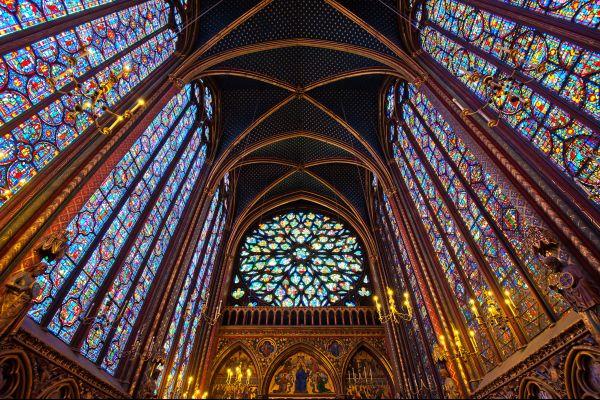 La Sainte Chapelle Ile de la Cité , France