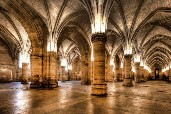 Les monuments, conciergerie, palais, prison, ile, cité, seine, ile-de-France, France, chapelle