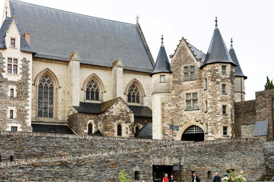 Le château du roi René à Angers , France