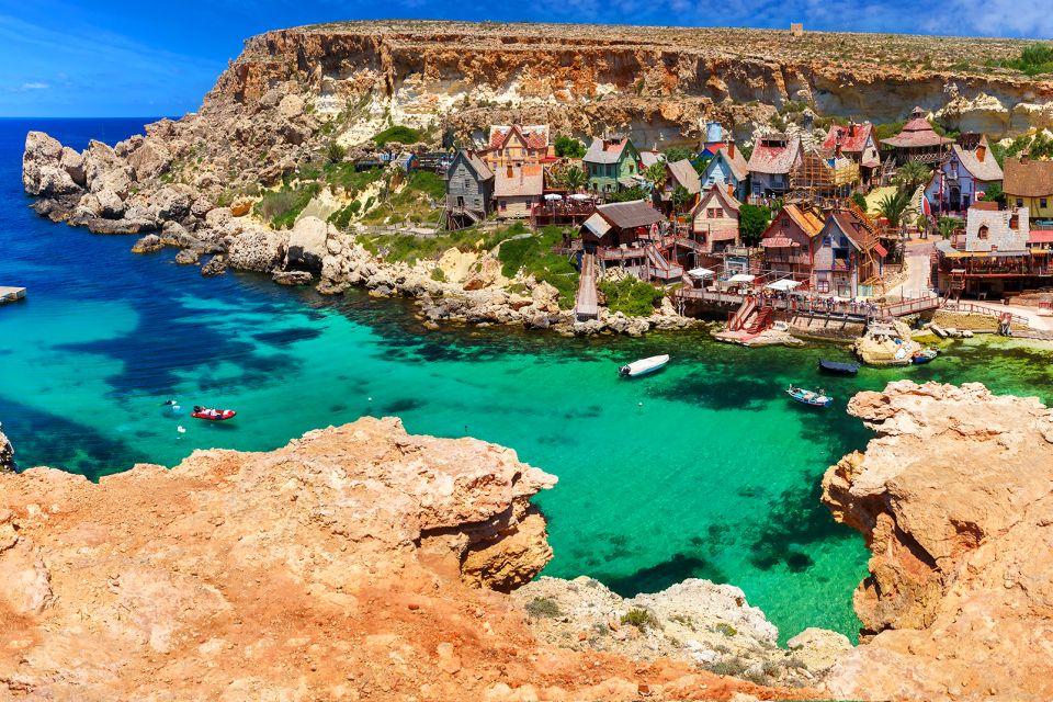Un lieu de visite réputé, Le Village de Popeye, Les arts et la culture, La Valette, Malte